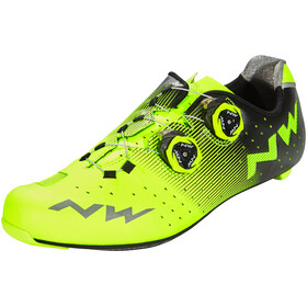 Northwave Revolution Shoes Men yellow fluo/black